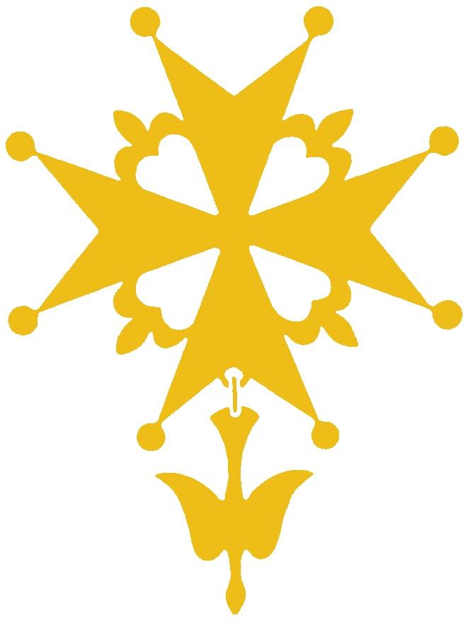 Croix huguenote classique ~ Croix Huguenote En Bois